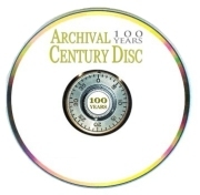 Scratch-Resistant Archival Century Disc cds and dvds